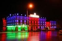 Наружное освещение: архитектурное освещение зданий и фасадов в г.Искитим